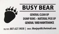 Dump runs and general clean up