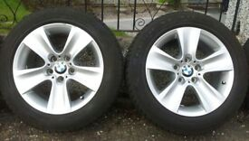 BMW WINTER ALLOY WHEELS x 4