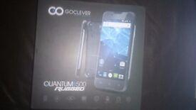 goclever quantum 2 500 rugged black smartphone brandnew.bargain