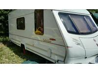 4 berth touring caravan