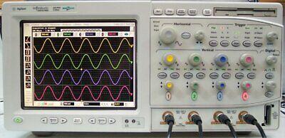 Agilent Infiniium 54831d 600mhz 416 Channel 4gss Mixed Signal Oscilloscope