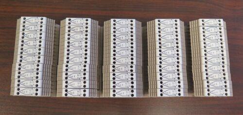 Weidmuller 1033300000 WDU 2.5TC Type E Thermocouple Feed-Through Terminal Block