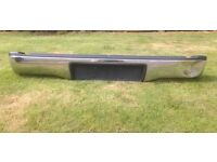 Genuine Toyota Hilux Rear Bumper with brackets and plastic trim