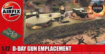AIRFIX A05702 1:72 D-DAY GUN EMPLACEMENT