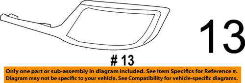 Lincoln FORD OEM 07-10 MKX Hood-Front Molding Trim 7A1Z16856A