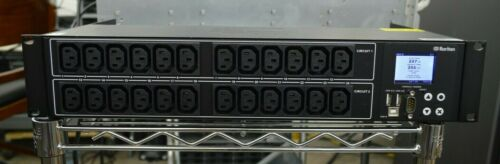 Raritan PX3 Horizontal Rack Mount PDU PX3-1833R 2U 30-Outlets NEMA L6-30P PLUG