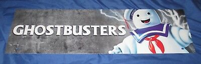 SPIRIT HALLOWEEN Store Exclusive Display Sign GHOSTBUSTERS Stay Puft Marshmallow](Halloween Store Displays)