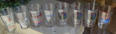 Variety Lot of 8 Craft Beer Pint Glasses - BUDWEISER SPORTS THEME/OLYMPICS/ETC - Olympic Themed Crafts