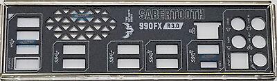 ASUS IO SHIELD BLENDE BRACKET TUF SABERTOOTH 990FX R3.0, SABERTOOTH 990FX R3.0