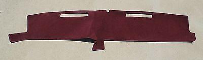 1981-1987 CHEVROLET FULL SIZE TRUCK DASH COVER MAT dashboard pad burgundy maroon Full Dash Cover