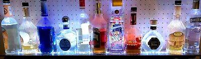 40multi-color Led Liquor Bottle Display Custom Bar Shelf Wremote
