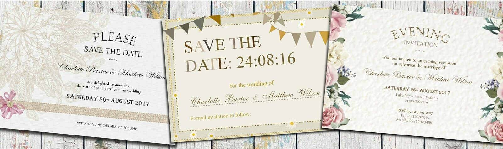 Joeby Design Wedding Stationery
