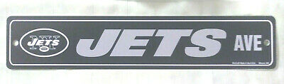 New York Jets Ave Street Sign, 19 x 3.75 Inch, WinCraft, Brand New, NFL