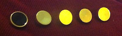 Star Trek The Next Generation Rank Pip Pins: 5 Pin Set