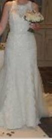Wedding Dress by Kay Mason size 10-12