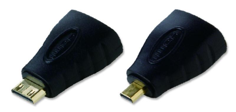 Mini & Micro-HDMI Male to HDMI Female UltraHD 4K Adapter Kit
