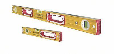 Stabila 48 In. 16 In. Aluminum Box Beam Level Set - 37816