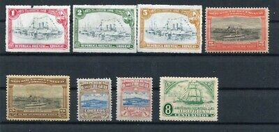 D183580 Boats Scenery Uruguay Nice selection of MH stamps