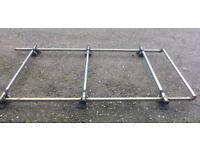 3-bar Roof Rack with Rear Roller for VW Transporter T4
