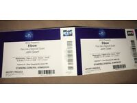 SELLING 2x tickets to Elbow Gig tonight £40 for both!