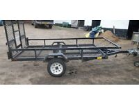 8x4ft6'' trailer with ramp