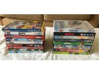 18 DVD's all in good condition - £0.83p each!