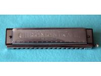 HOHNER CHROMONIKA 111 ~Beautiful condition 64 note Genuine German Harmonica
