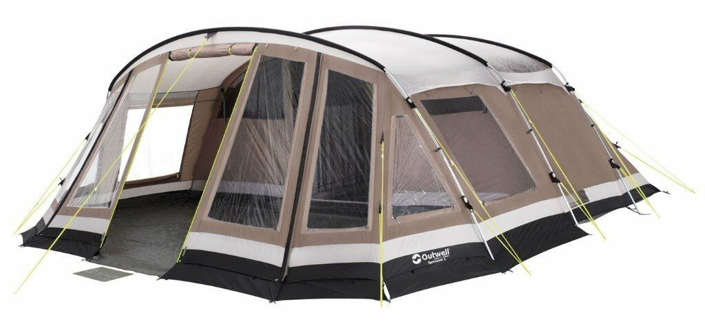 outwell tennessee 6 family tent inner carpet footprint. Black Bedroom Furniture Sets. Home Design Ideas