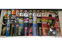 50 Total guitar magazines plus learn to play books