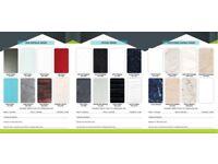 Shower Panels 1000mm Wide PVC Wet Wall Panels 1m x 2.4m Bathroom Cladding 10mm
