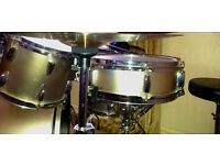 Drum kit by Pulse, jazz sounding, neat, smart & compact. Full kit ready to play.