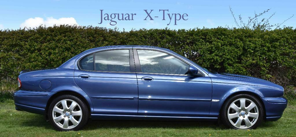 Jaguar X Type In Blue 17 Alloys Rear Spolier Front Sports And Lower Sports Grills In