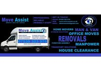 Cheap Van & Man from £15ph,Home Removals,office moves,furniture transport,House clearance/disposals