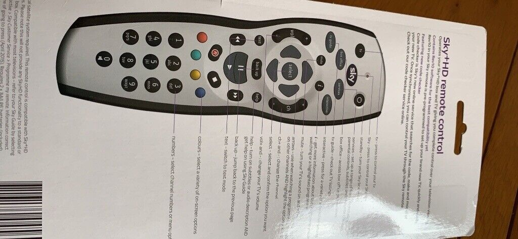 Sky HD remote control | in Worksop, Nottinghamshire | Gumtree