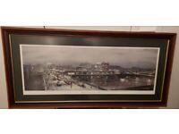 GLASGOW BRIDGE AND JAMAICA ST BY JOHN M BOYD, LTD EDITION SIGNED PRINT 17 OF 300