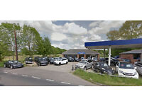 Car / Van Front Car Sales Office Showroom Unit For Rent / To Let - A338 Ringwood Salisbury Road