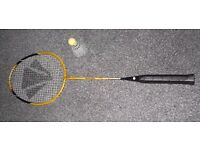 Carlton Black and Yellow Badminton Racket - Hounslow TW3