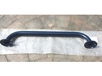 New Disabled Grab Rail / Support Rail Straight 60cm Navy Blue by Twyford RRP £35