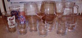 Various Glasswear