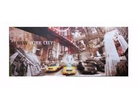 Large New york city wall canvas