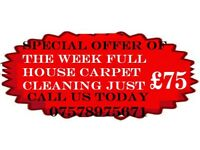 CARPET CLEANERS WEST YORKSHIRE FROM £15 per room