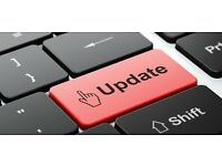 Professional Web Editor available to update your website 1 or 2 days per week