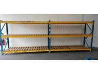 Used PSS Longspan Shelving System - 2 Joined Bays