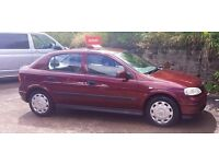 VAUXHALL astra automatic immaculate 52 PLATE £995 PART EX CONSIDERED