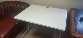 office white rectangle desk good quality robust