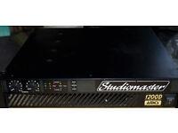 Studiomaster 1200D PA Power Amplifier