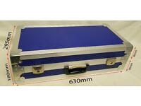 Flight Case Blue Foam Lined 630W x 295D x 180H (mm)