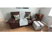 Italian Leather Sofa by Natuzzi