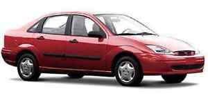 Red Ford Focus 2002