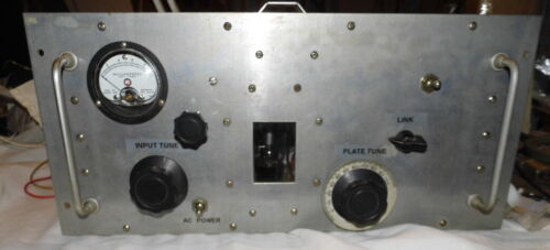 Vintage Homebrew  HF Amplifier  with Plugin Coils